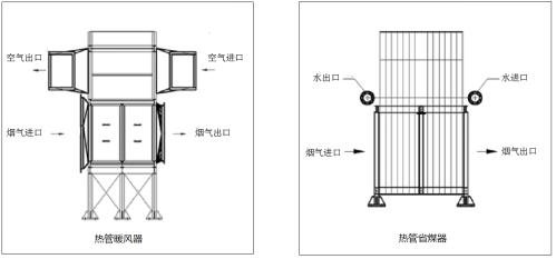 锅炉烟道结构图